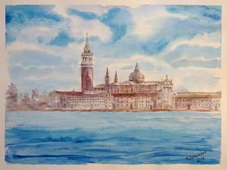 View on San Giorgio Maggiore in Venice -