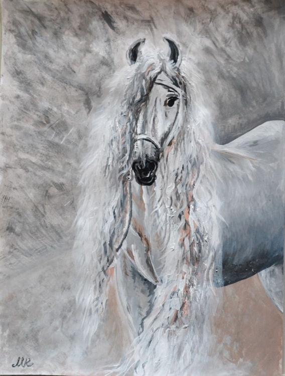 The White Horse. - Image 0