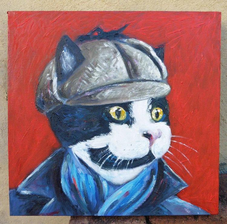 Sherlock Cat - Image 0