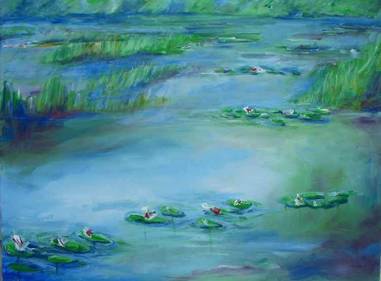 Water Lily Pond -
