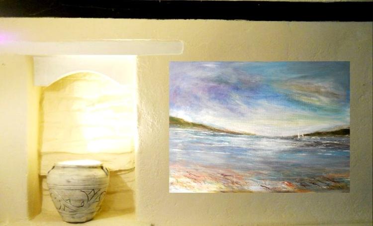 Carrick Rhodes Cornwall ~ English impressionist painter - Image 0