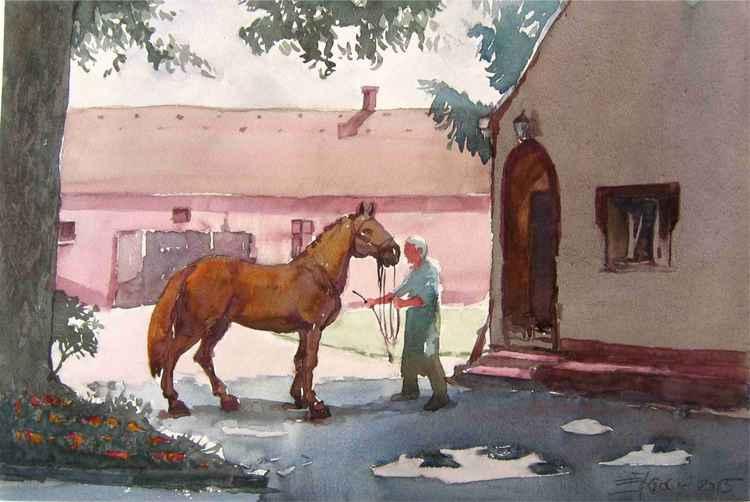 State Lipizzaner horse-farm Đakovo