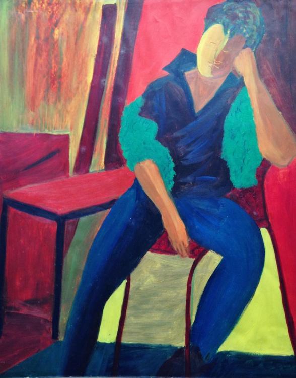 Seated Figure - Image 0