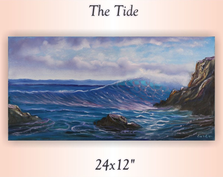 "The Tide 24x12"" - Image 0"