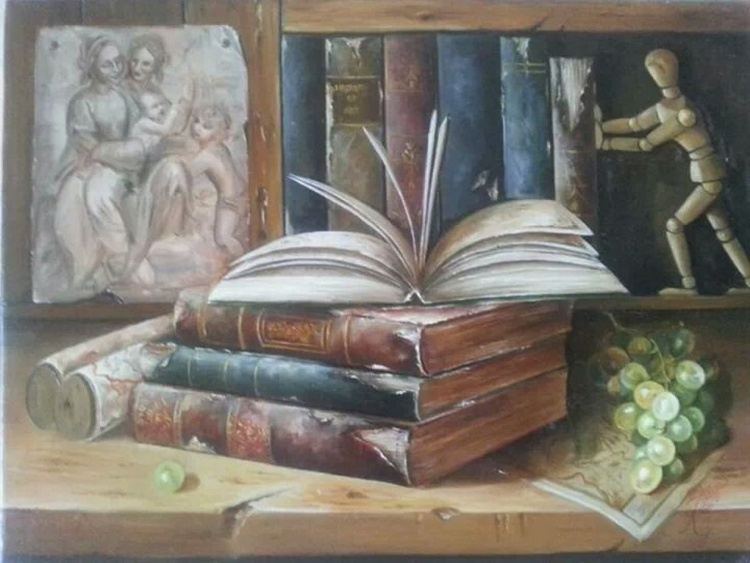 old books - Image 0