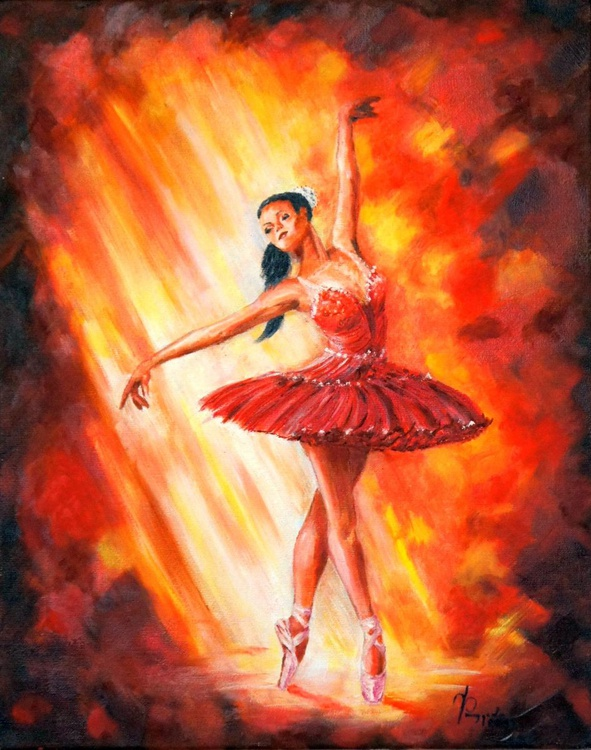 Dancing flame - Image 0