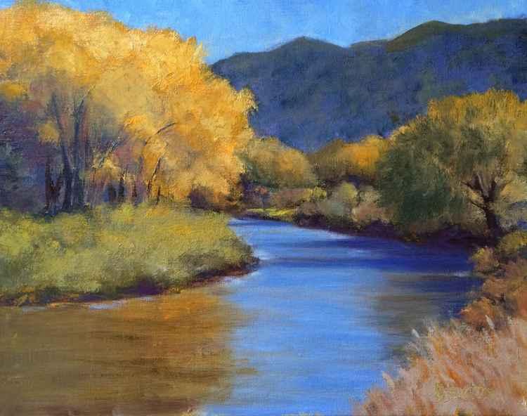 Fall on the Rio Grande -