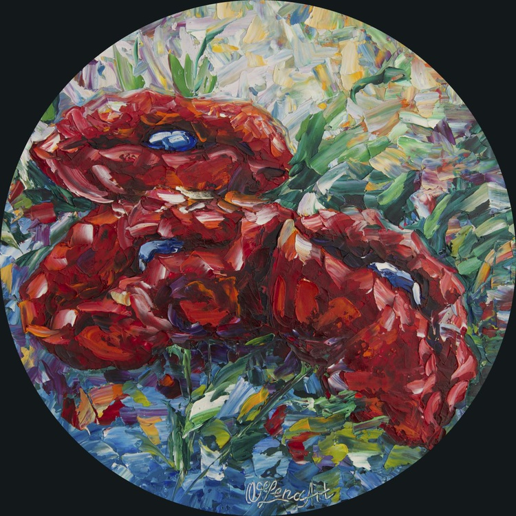 Poppies in Circle  - Image 0