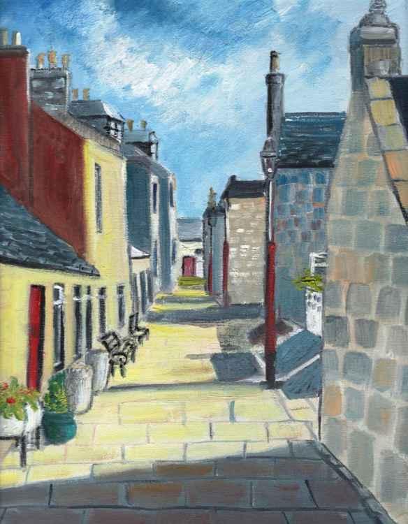Sunshine on Fittie Street -