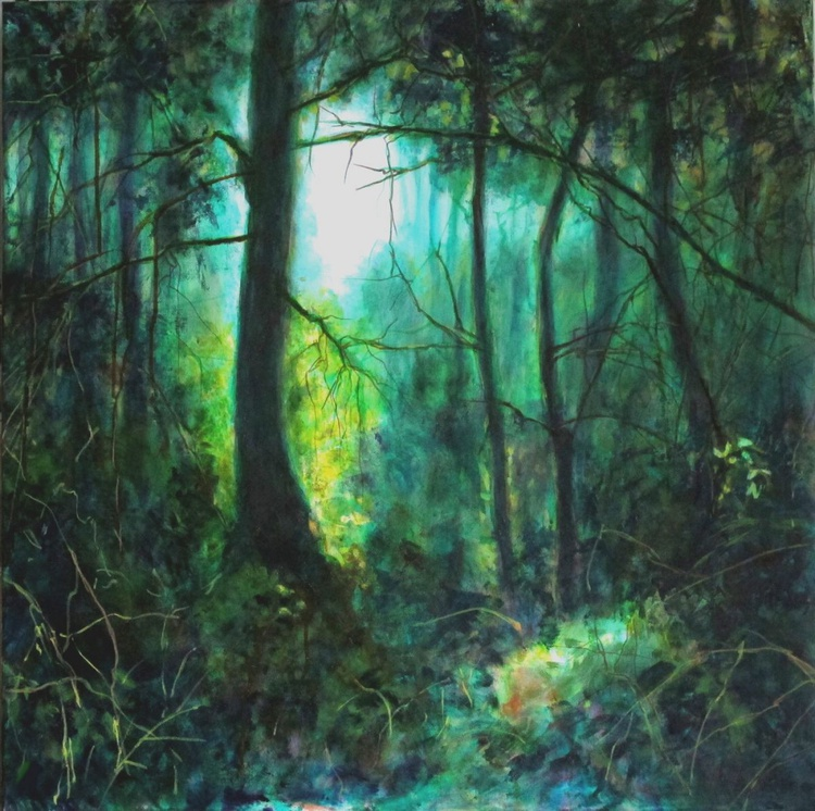 Forest - Large size 70X70cm - Image 0