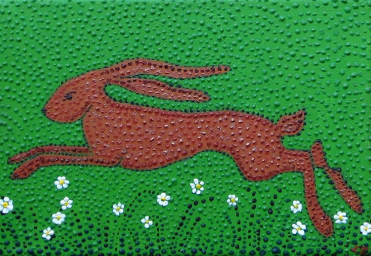 Hamish the leaping hare - Image 0