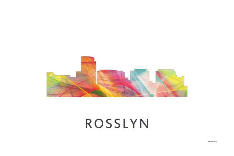 Rosslyn Virginia Skyline WB1 -