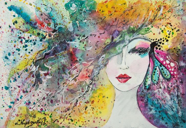 Mystical lady - Image 0