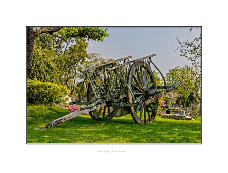 Ancient Hay Cart - Image 0