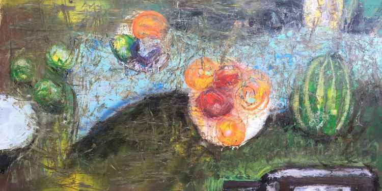 Still Life with Watermelon | Plein Air
