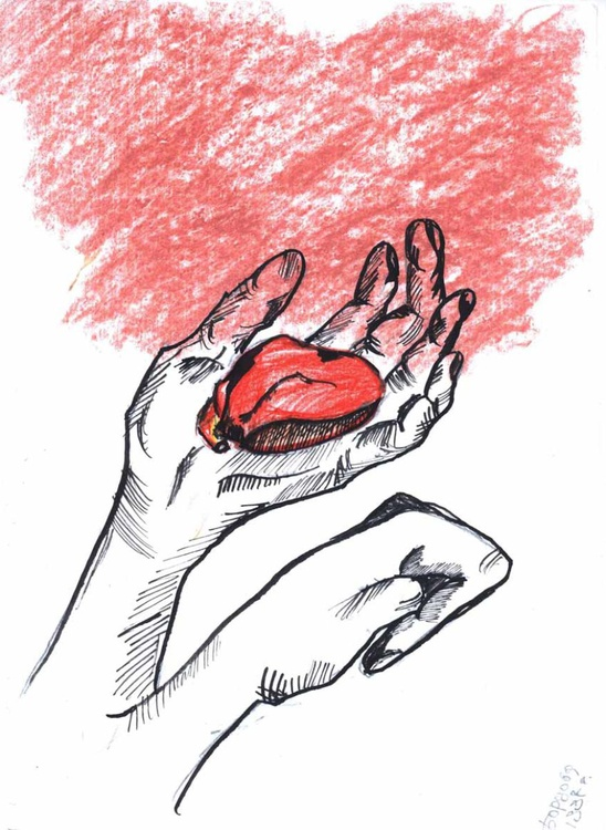 My heart in your hands - Image 0