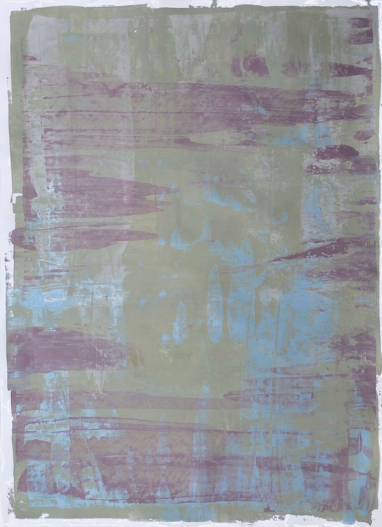 Abstract Home Decor 096 - Acrylic Abstract Art Painting On A2 Paper - PLEASE READ DESCRIPTION! - - Image 0