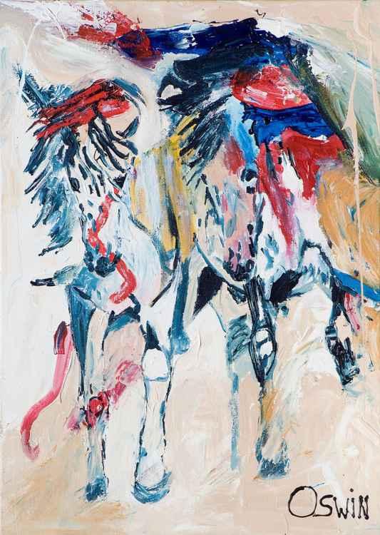 Desert horses -