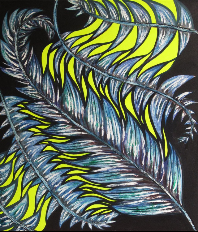 Neon Feather - Image 0