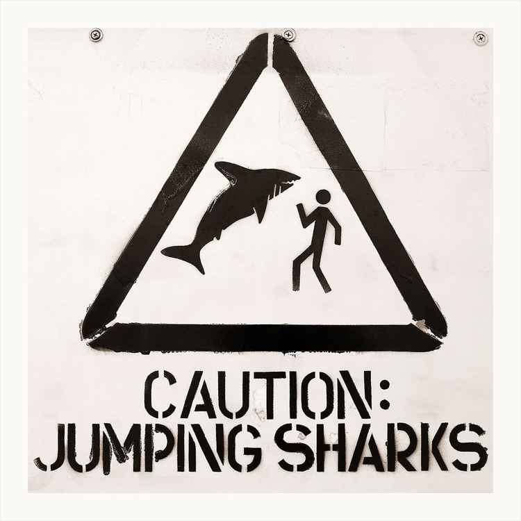 Jumping Sharks?!