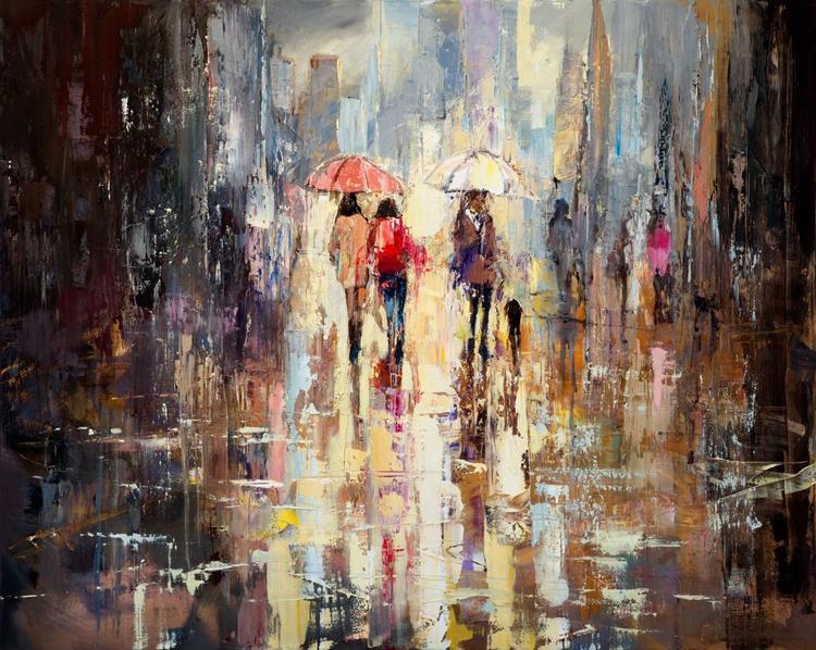 'Spring Rain in London' - Image 0