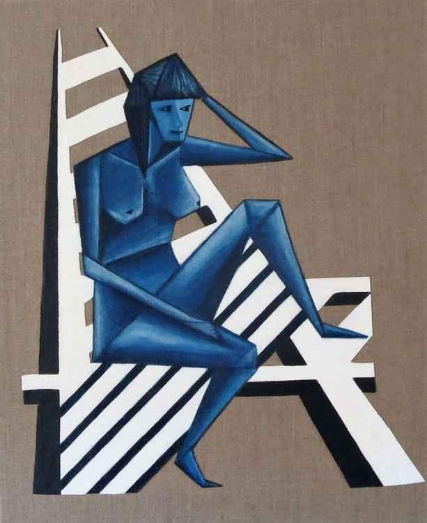 Blue Woman -