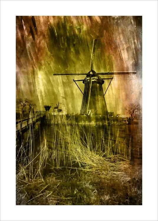 Dutch Windmill & Bridge -
