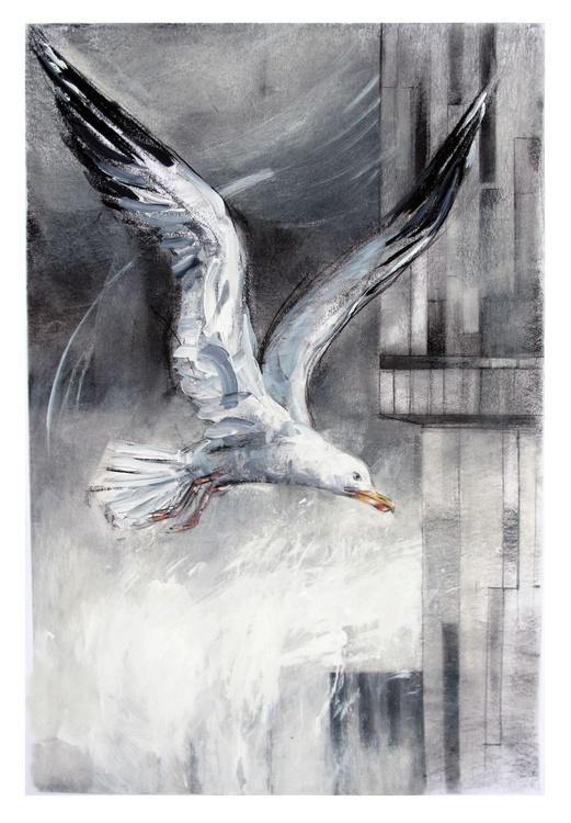 Gull, Beetham Tower - Image 0