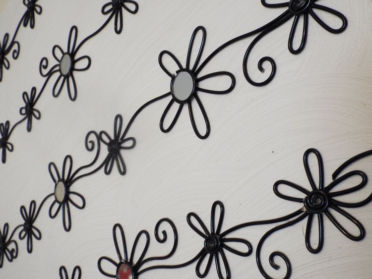 Wall Candy  Black and White Pin Stripe - Image 0