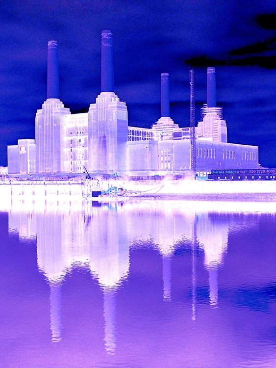 """BATTERSEA POWER STATION  NO:7  Limited edition  1/50 12"""" x 16"""" - Image 0"""