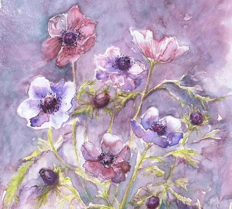 Anemones in the Mist - Image 0