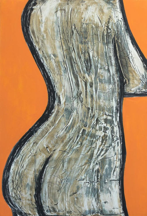 Nude in orange - Image 0