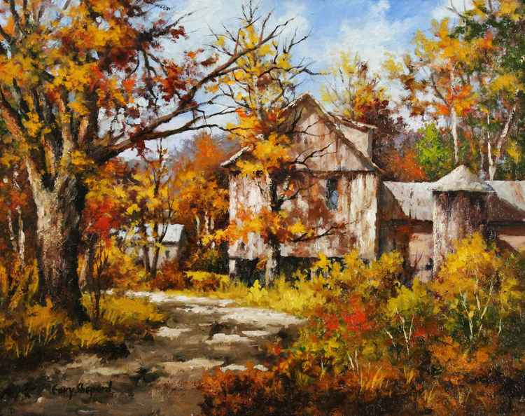 Country Road 16 x 20 Oil -