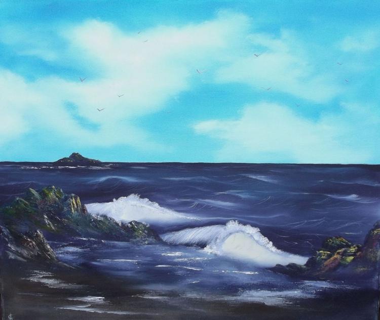 Double Eyed Seascape. - Image 0