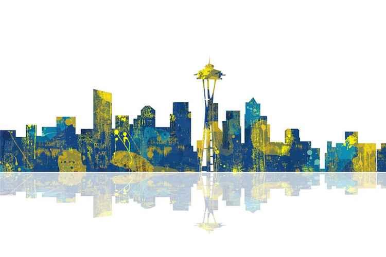 Seattle Washington Skyline -