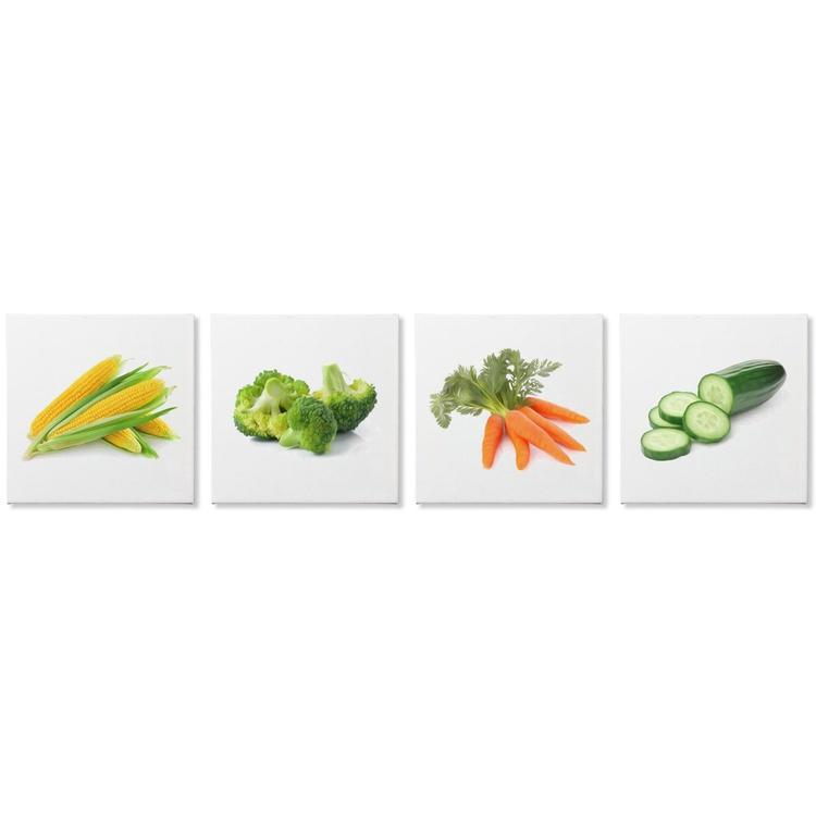 Garden Fresh | Modern Food Art, Giclée Print on Canvas - Image 0