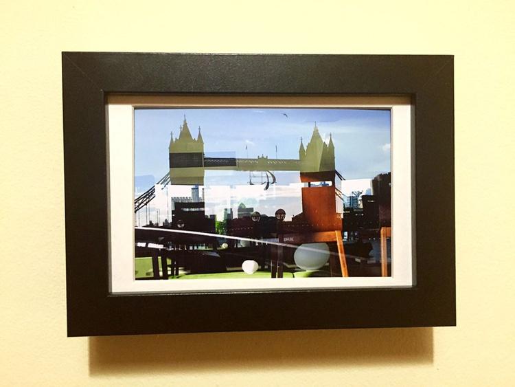 TOWER BRIDGE PATCHWORK MINI ART 1/200 - Image 0