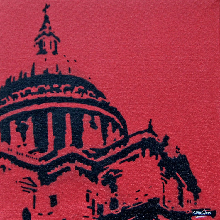 St Pauls red - Image 0