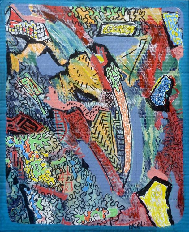 Hommage à Jean Dubuffet 4 - Image 0