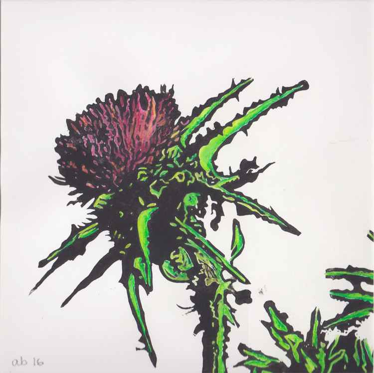Spikes 1 - Scottish thistle -