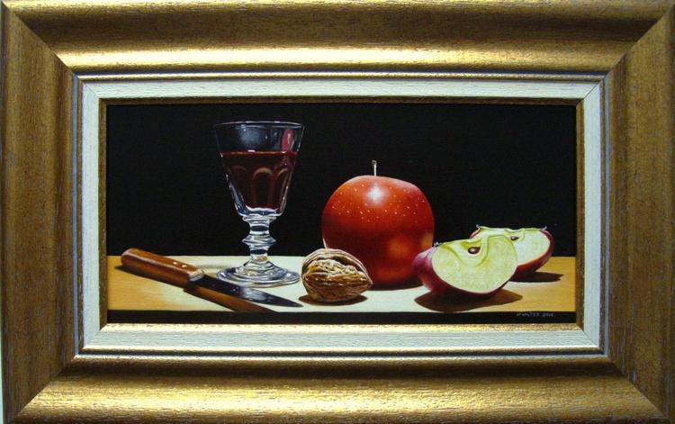 Panoramic red apple - Image 0