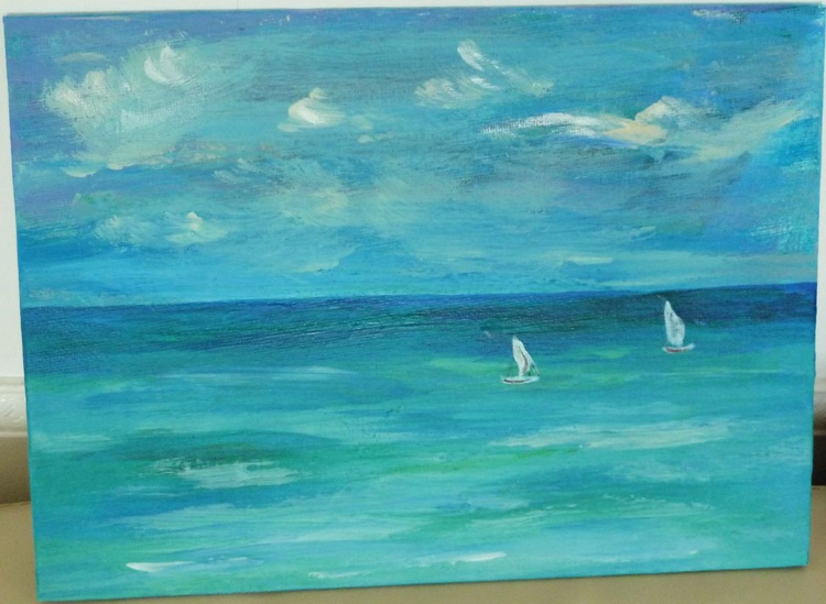 Two sailboats - Image 0