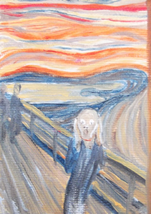 ACEO of The Scream - Image 0