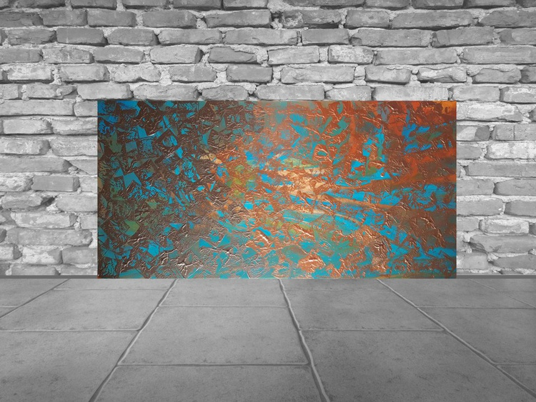 Under the Surface - Large sturktural painting - Image 0