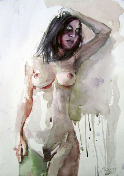 Nude standing pose - Image 0