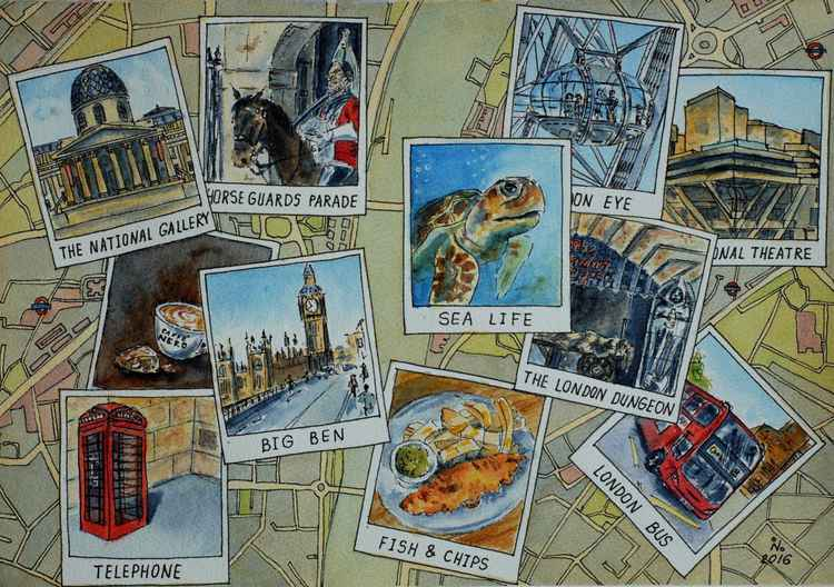Traveler journal. London. -