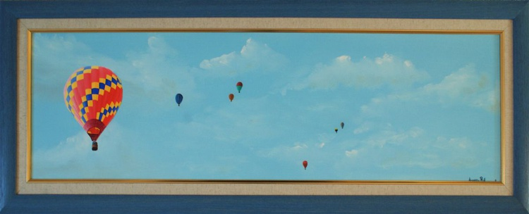 Clouds and Balloonists - Image 0