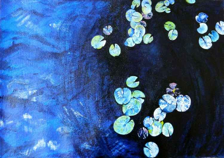 lilly pads -