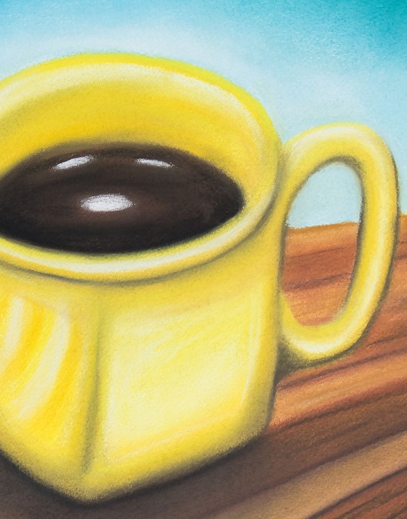 Yellow Coffee Cup - Image 0