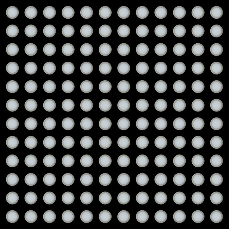 144 Jars of Yogurt No. 1 (orthogonal view) - Image 0